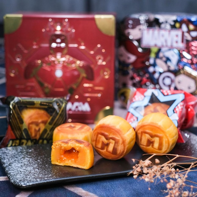 Hong Kong Meixin's Avengers Mooncakes Make a Return in 2020 with Custard Lava Filling!