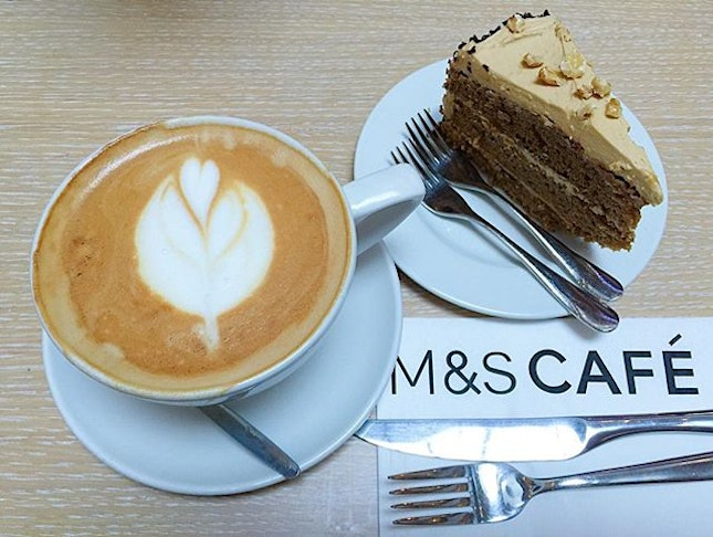 [WHEELOCK PLACE] Chanced upon the M&S Cafe when running some errands at Wheelock Place.
