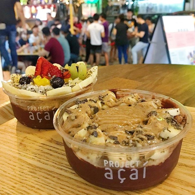 [HOLLAND V] So light and refreshing that you'll always have room for it after a meal 🤭 Tried the almond butter bowl and it was a myriad of interesting textures, the sticky nut butter and the purée-ish acai 😋 • #burpple #hungrygowhere #whati8today #exploresingapore #foodiesg #8dayseat #sgfoodie #iweeklyfood #foodstagram #foodporn #vscofood #sgfood #foodsg #foodphotography #projectacai @projectacai #acaibowl