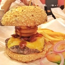 Onion Ring Burger