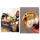 Finally a coconut ice cream that is pretty on par with the one at Chatuchak Market.