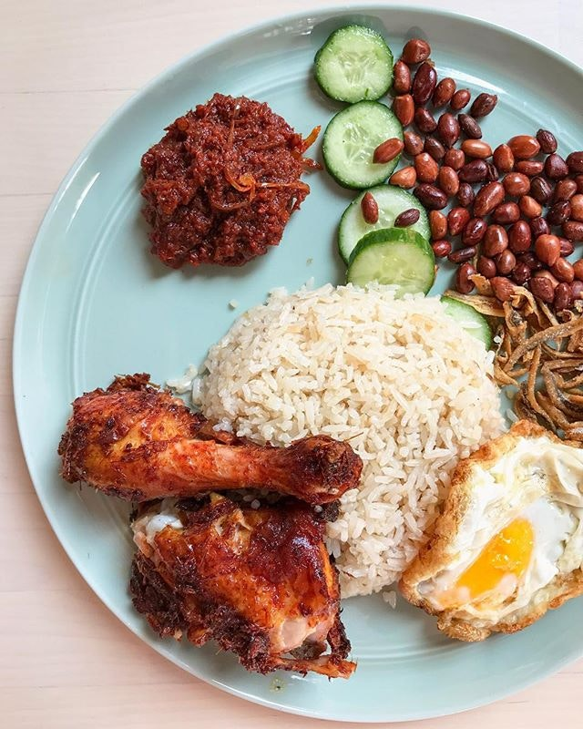 For a Refined Take on Nasi Lemak