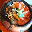 Salmon & Unagi Don