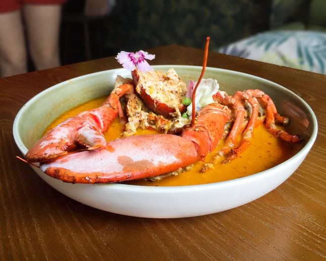 Singapore Chili Lobster ($48)