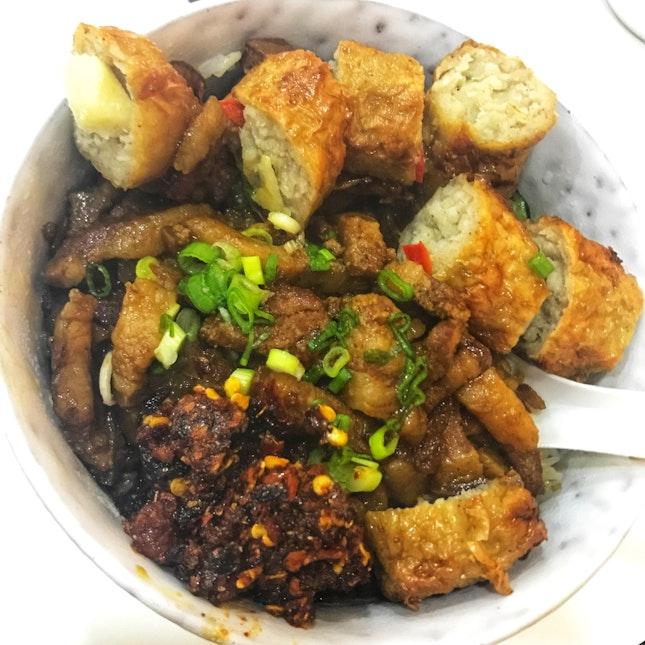 滷肉飯 Lor Bak Png