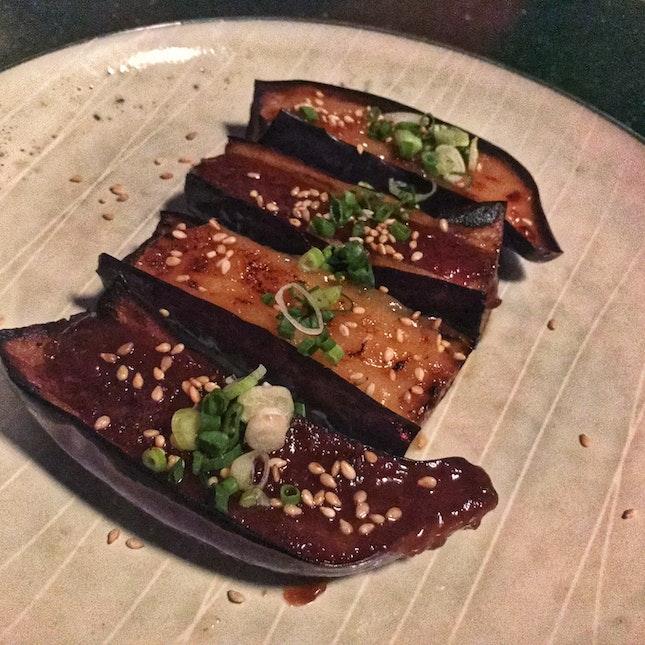 Grilled Miso Eggplant