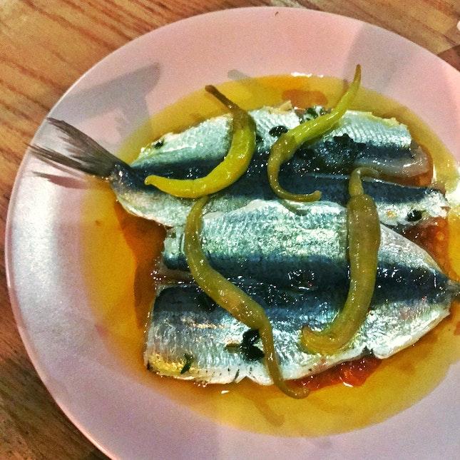 Sardines & Pickled Chili