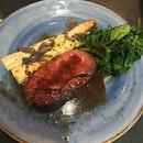 Wagyu A5 Steak with White Asparagus
