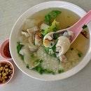 Teochew Style Pomfret Porridge