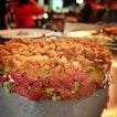 Beef Tartare with Sourdough Crust