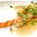 油渣焗龍蝦 Lobster Braised In Pork Lard