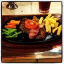Pork tenderloin #steak #pork #enaksekali #yummy #yummyfood #haujek #boncafe
