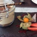 #tiramisu in a jar.
