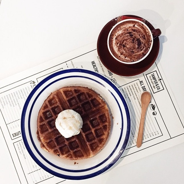 Places For Waffles And Icecream