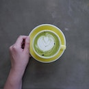 A cup of matcha will be good right now