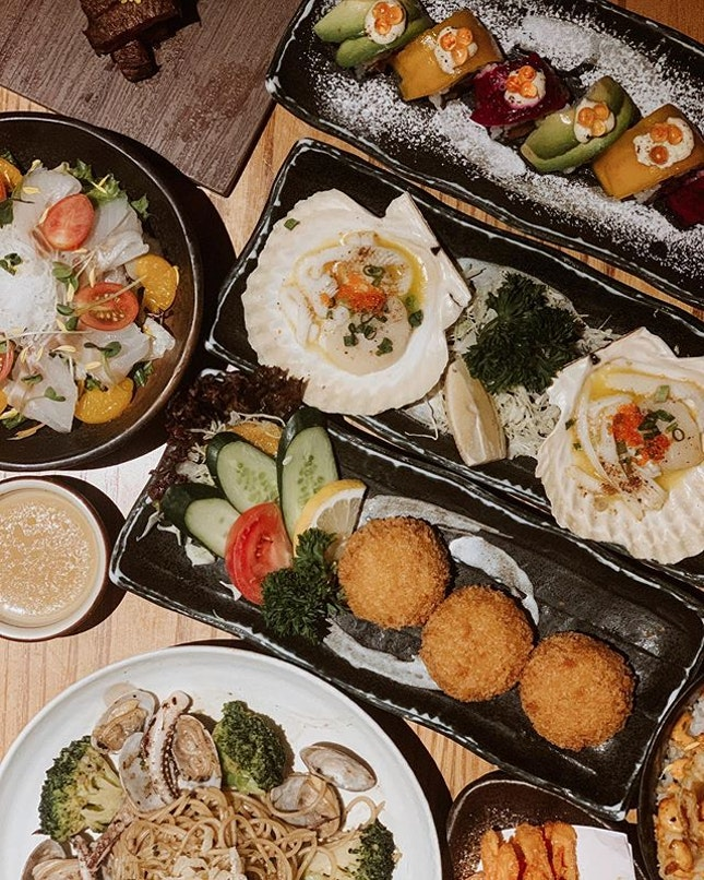 All these from @sushiteisg 😍  Sushi Tei new Autumn menu for a limited time only.