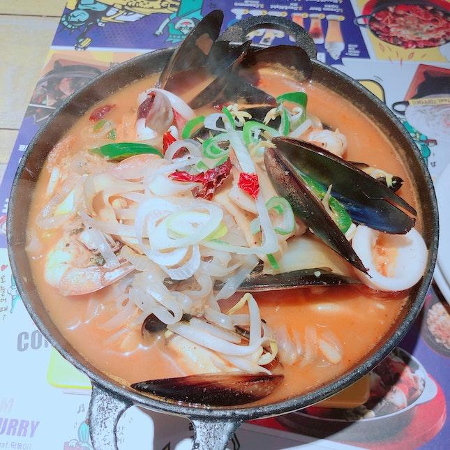 Seafood Jjamppong ($16.90)