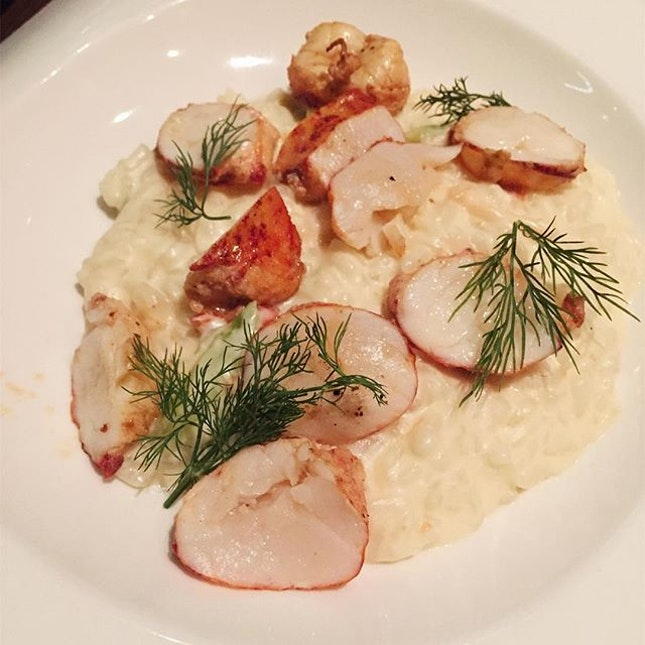 Butter Roasted Lobster Risotto ($38)