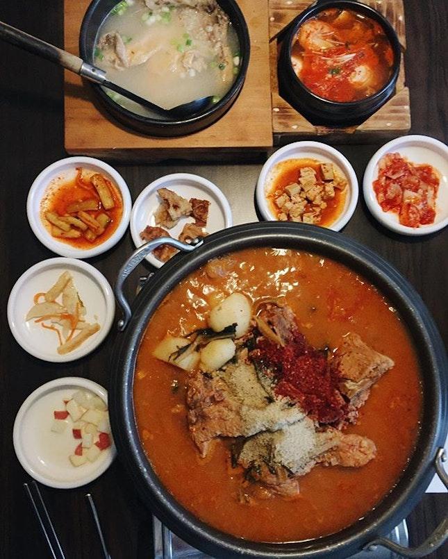 Seoul-satisfying #korean food last night at this hidden find.
