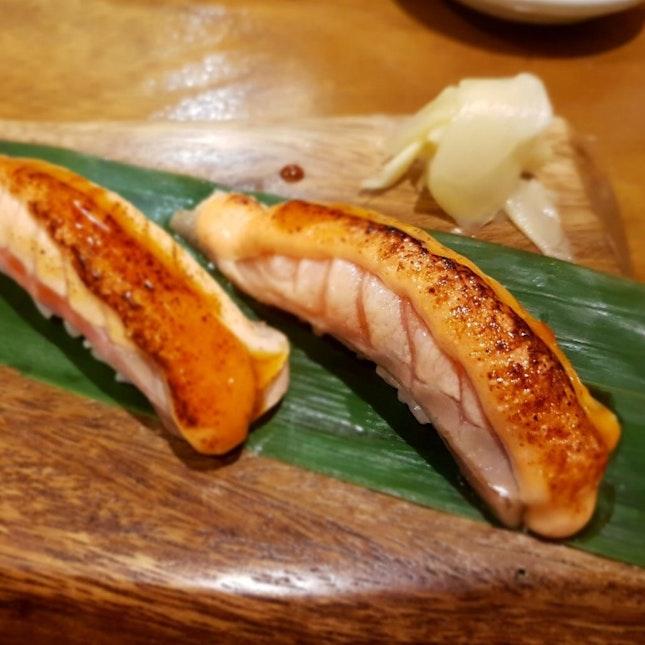 Aburi Salmon Lunch Set ($17)