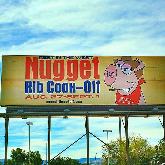 #ribs #ribfest #bestinthewest #nugget #ribcookoff #reno #sparks #meat #lunch #adventure #travel #travelgram #travelling #2014 #yum