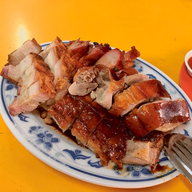The Oldest Cantonese Roast Meats Stall In Singapore!