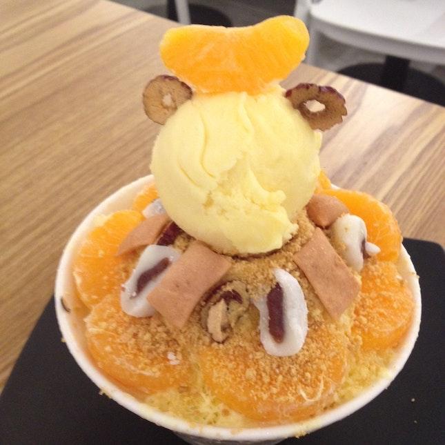 Citrus Magakoli Bingsu
