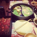Soup to soothe the hangover#fatty#bom#bom#lunching#sukiyaki#ps#yummy!!!