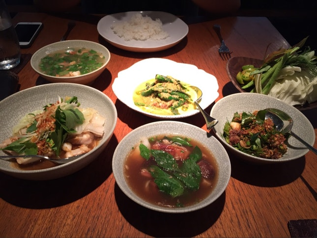 Phenomenal Lunch At Nahm