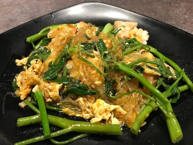 Dry Suki Seafood Noodles