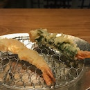 Shrimp, Naked And Wrapped In Shiso