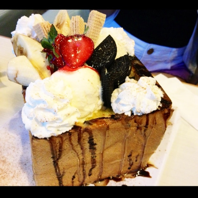 Ice-cream Fruits Oreo Toastbox