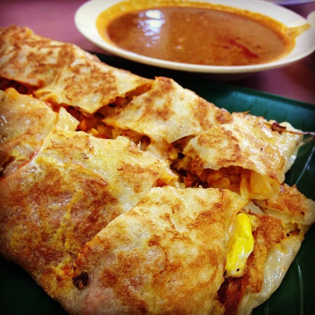 For Great Chicken Murtabak