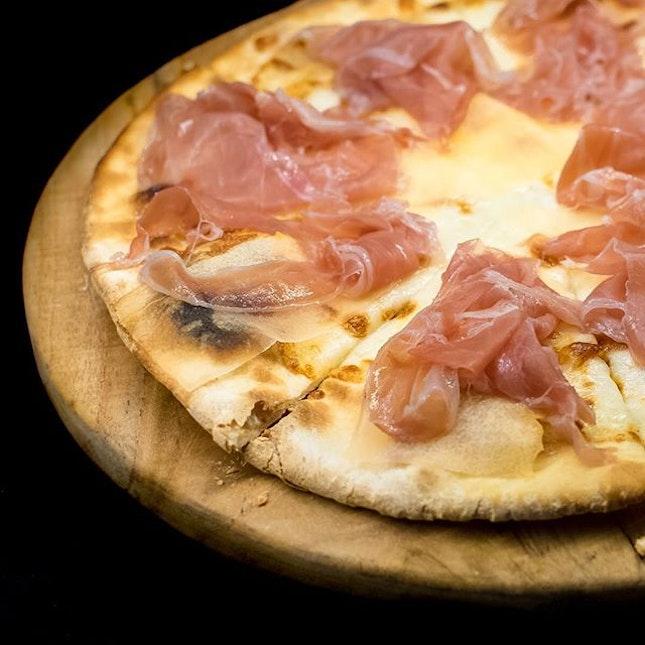 Melone, prosciutto di Parma, mozzarella