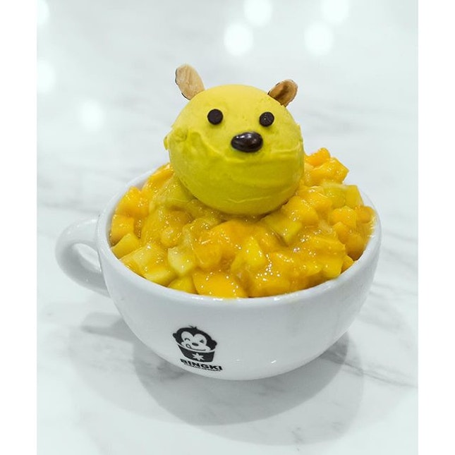 Mango Bingsu.