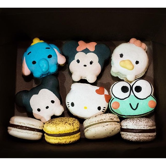 Oops I did it again… Got tempted to buy macarons again because of cute little Dumbo!