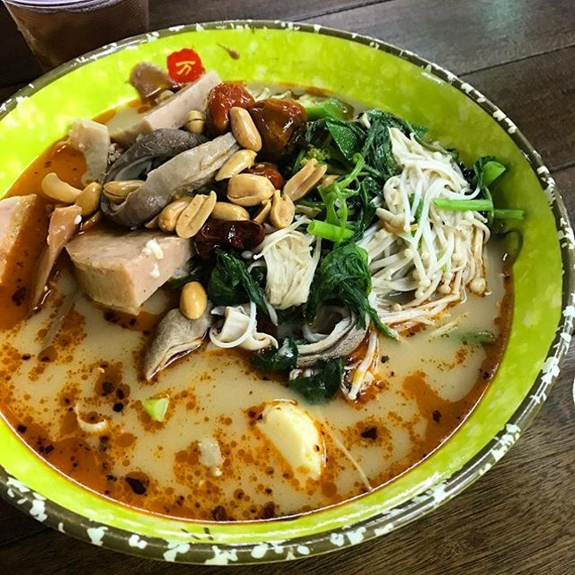 Late night Mala Soup - pay per 100 gram #nomnom #sgfood #burpple