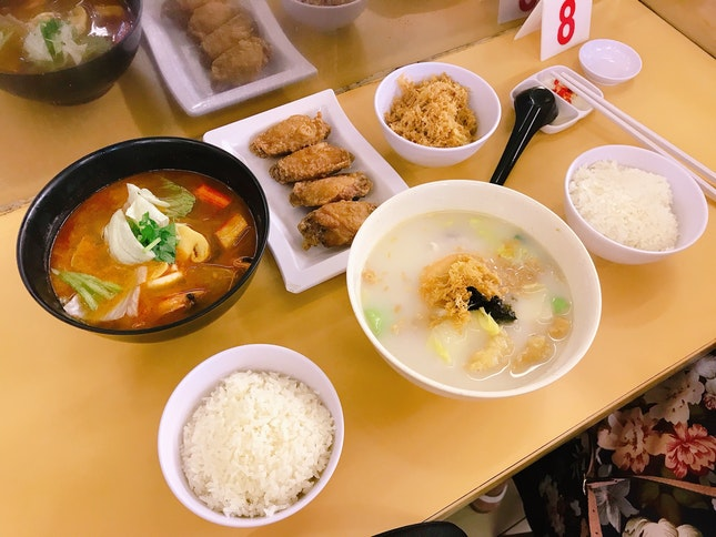 Fish Soup ($5.80) With Extra Egg Floss