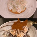 Citrus Fling ($12) and Vegan Brownie with Vanilla Ice Cream