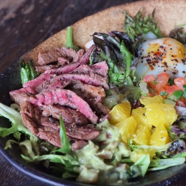 Steak Bowl ($16)