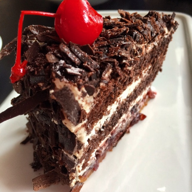 The Black Forest Cake