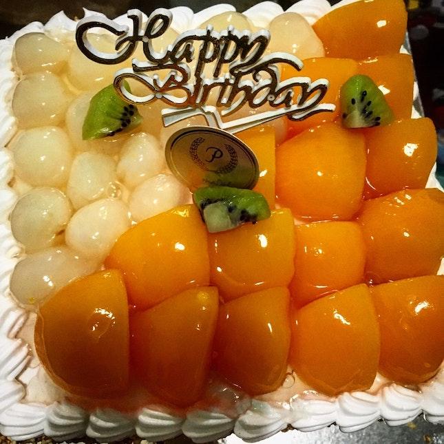 Logan And Peaches Cake