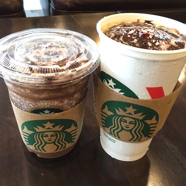 Starbucks Pepper Mint Christmas Coffee