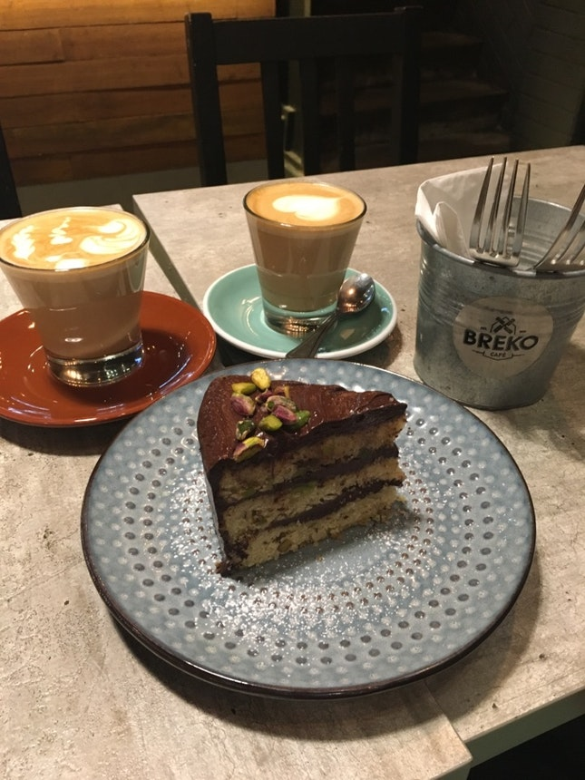 Desserts And Coffee For The Weekends.