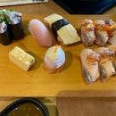Aburi And Sushi Platter
