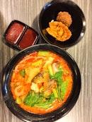 Curry Yong Tau Foo ($5.80)