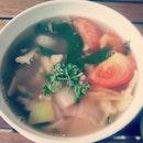 Seafood tomyam soup #lunch