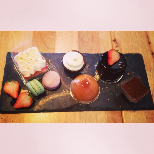 Delicious Dessert Platter