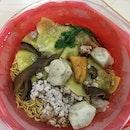 Ah Kow Mushroom Minced Pork Mee (Hong Lim Market & Food Centre)
