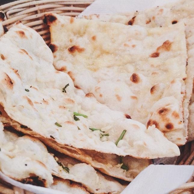 Garlic and Cheese Naan